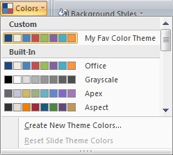 Color Swatch Add-In for PowerPoint 2007 and 2010