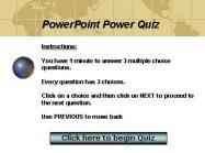 Quiz in PowerPoint using VBA